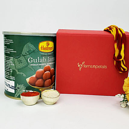 Gulab Jamun For Bhai Dooj Celebration