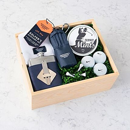 Happy Fathers Day Golf Lover Hamper:Gifts Baskets to Canada
