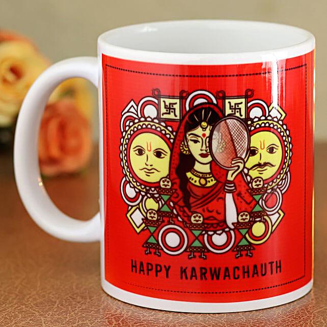 printed mug for karwa chauth online