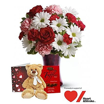 Heartfelt Kisses Valentine Gift Set