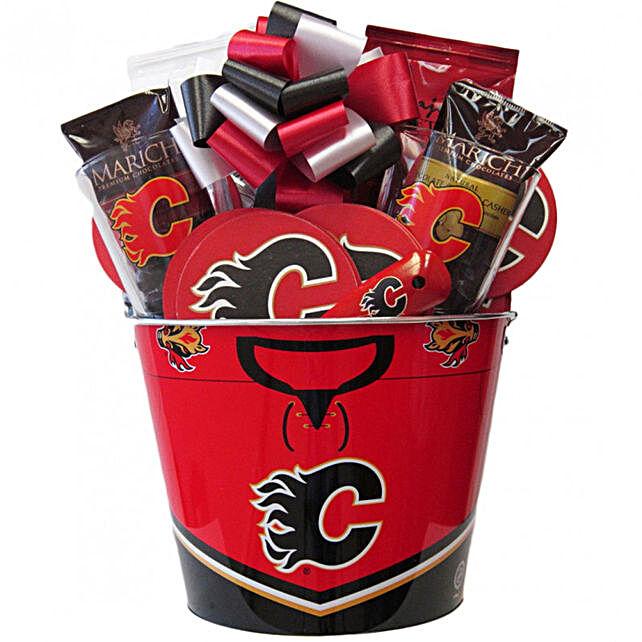 Hockey Mania Nhl Calgary Flames Ice Bucket