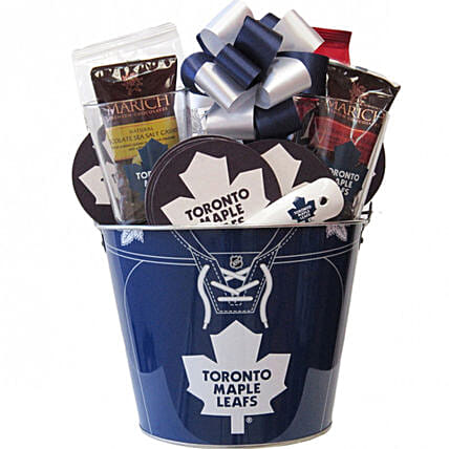 Hockey Mania Nhl Toronto Maple Leafs Ice Bucket