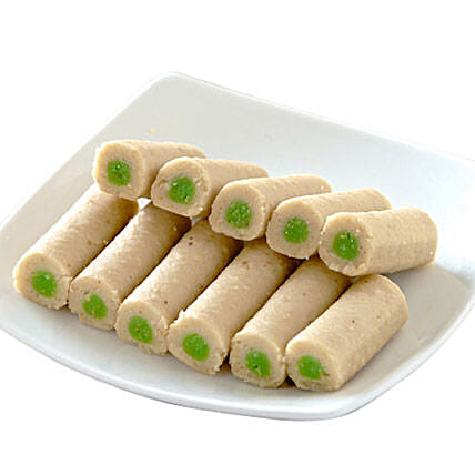Kaju Pista Roll:Sweets Delivery in Canada