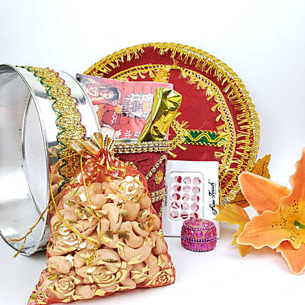 Karwa Chauth Designer Kit:Send Karwa Chauth Gifts to Canada