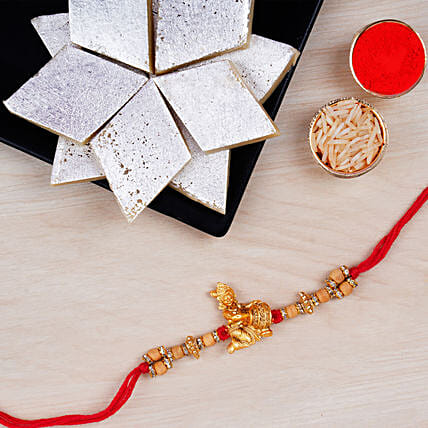 Krishna Rakhi And Kaju Katli