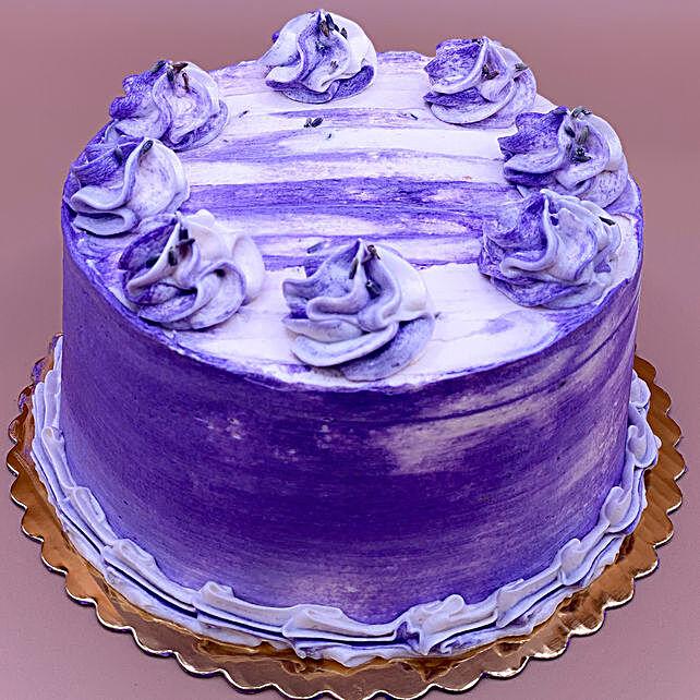 Lovely Earl Grey Lavender Cake