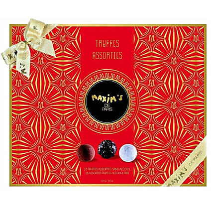 Maxims Truffles Collection For Christmas