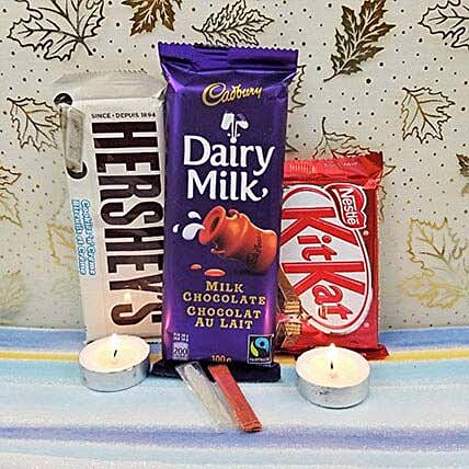 Mixed Chocolates N Diyas