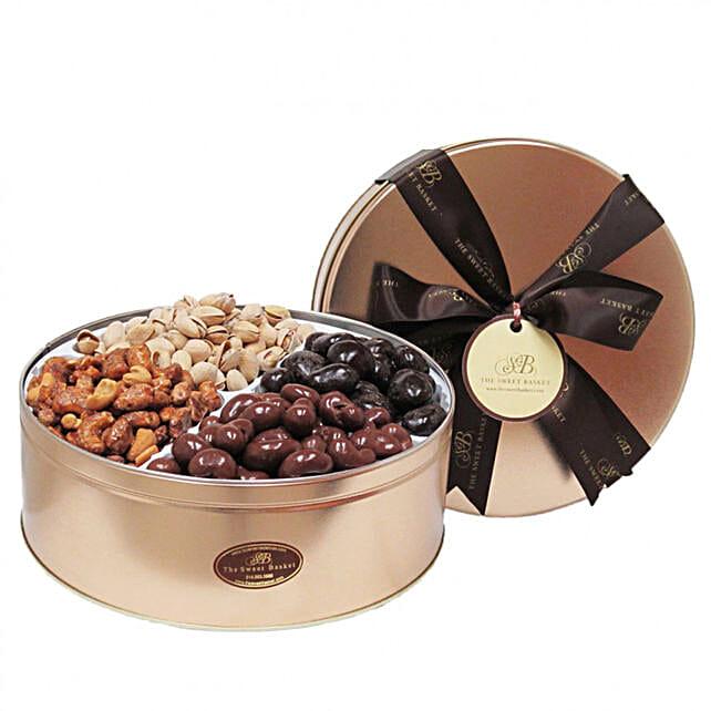 Nutty And Chocolaty Gift Tin