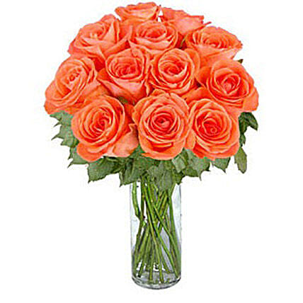 Orange Roses:Gifts for Husband to Canada