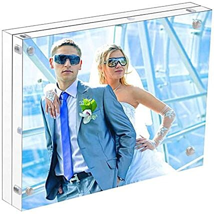 Personalised Crystal Photo Frame