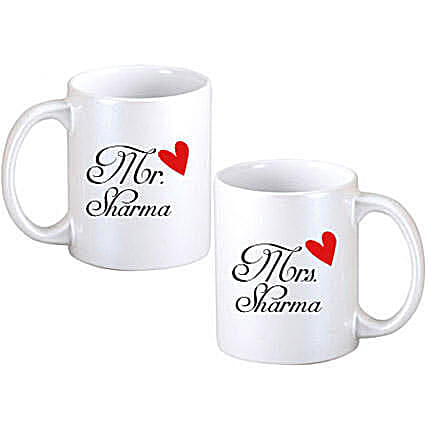 Personalized Couple Mugs