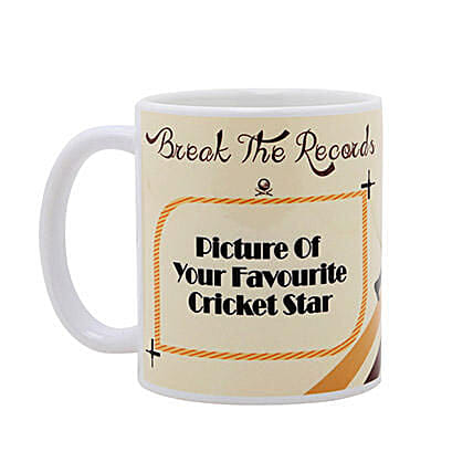 Personalized Cricket Love Mug