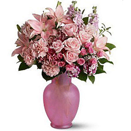 Pretty Pink Flowers:Send Carnation Flower to Canada