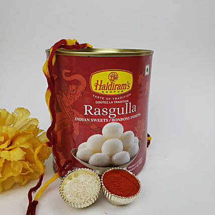 Rasgulla Special Bhai Dooj Gift Combo:Sweets Delivery in Canada
