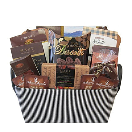 Say It Sweetly Chocolate Basket:Gift Baskets Delivery Canada
