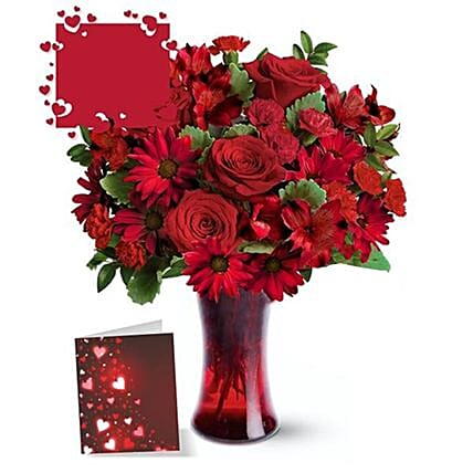 Say Love You With Flowers Arrangement