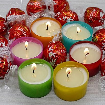 Scented Candles And Lind Combo
