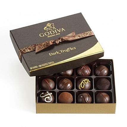 Signature Chocolate Box By Godiva:Chocolate Gift Baskets in Canada