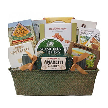 Sweet And Savoury Gourmet Gift Basket