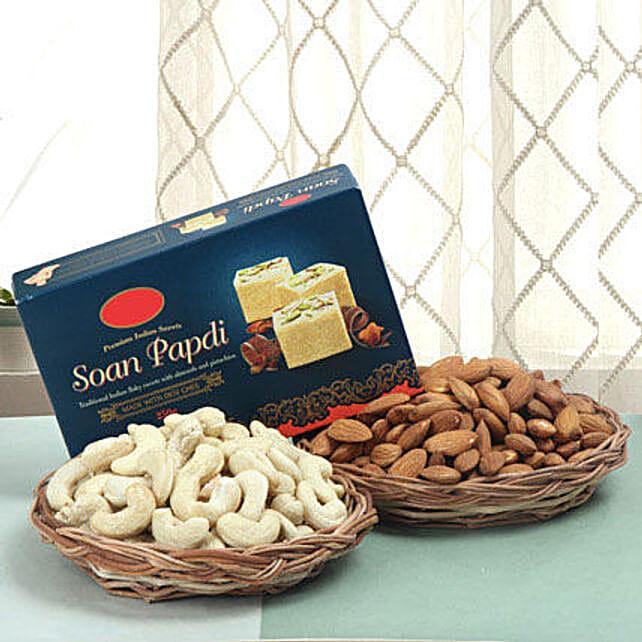 Sweet N Divine Hamper Fnp:Sweets for Bhai Dooj