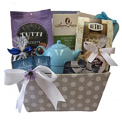 Tea And Biscuits Delight Hamper