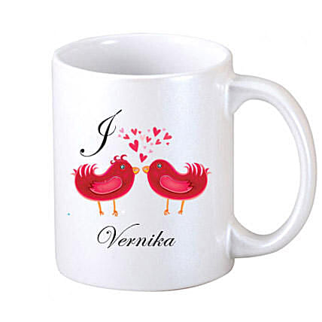 Two Loving Birds Coffee Mug