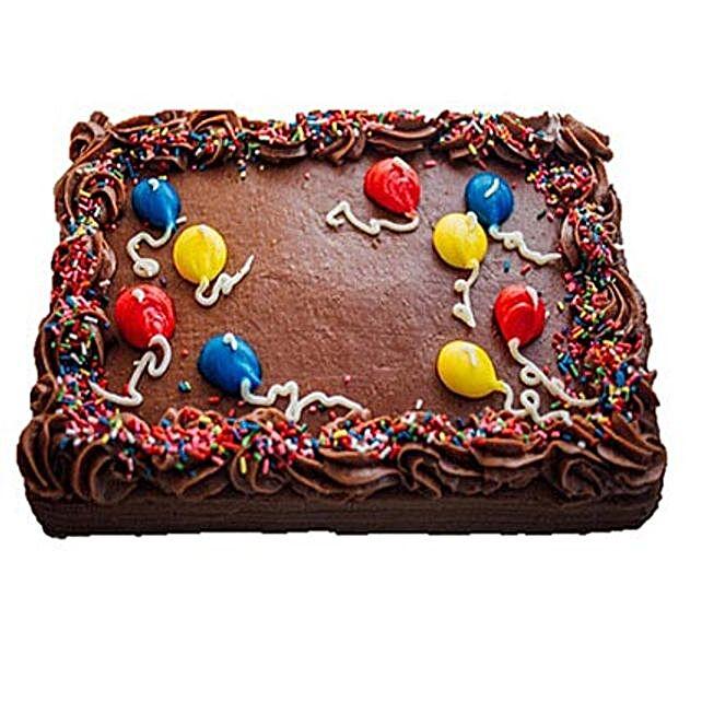 Decorative Chocolate Cake