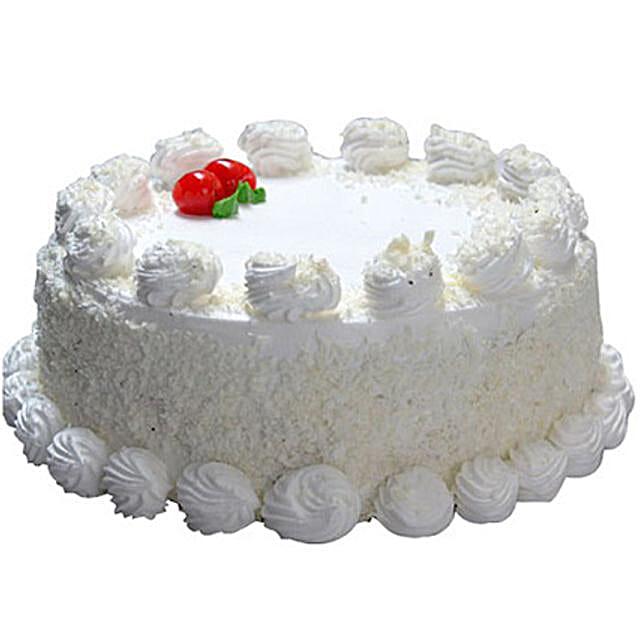 Vanilla Cake 1.4 Kg:Vanilla Cake Delivery in Canada