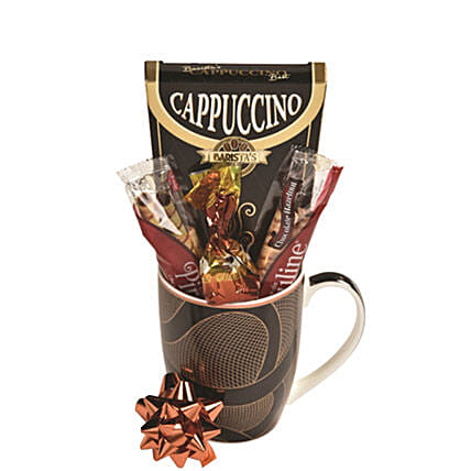 Cappuccino Sampler:Gifts Baskets to Canada