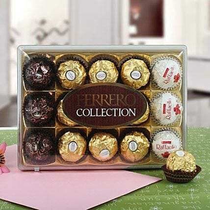 Treat of Ferrero Roch:Send Chocolate to Canada