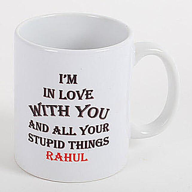Lovey Dovey Personalized Mug
