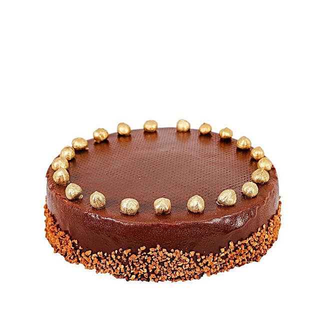 Praline Chocolate Mousse Cake