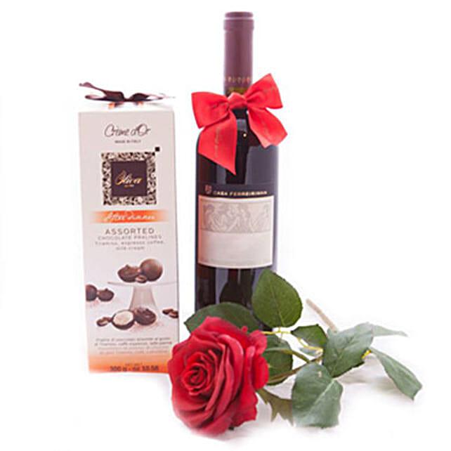 Romantic Wine Surprise
