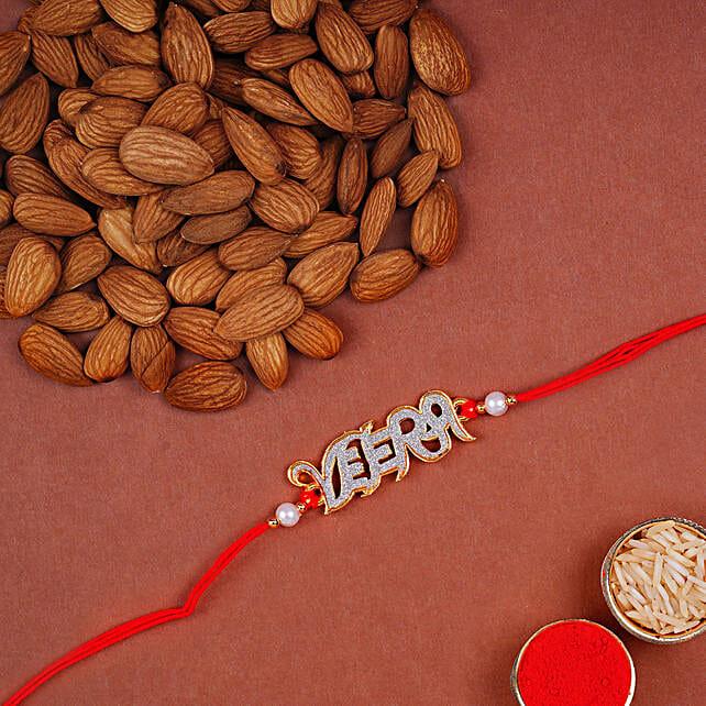 English Veera Rakhi And Almonds