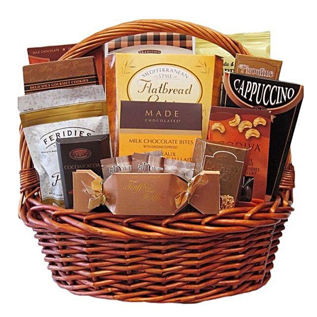 Assorted Chocolate Delight Basket
