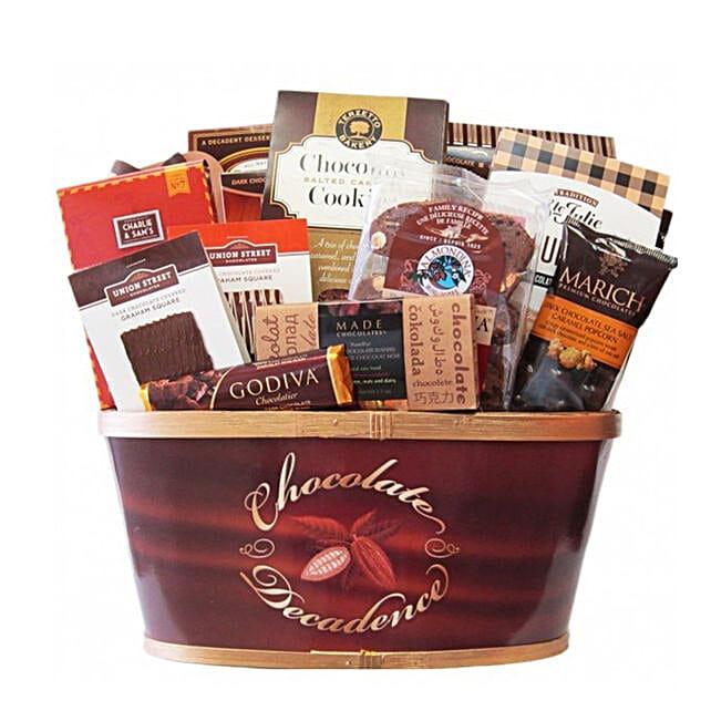 Chocolate Bonanza Basket