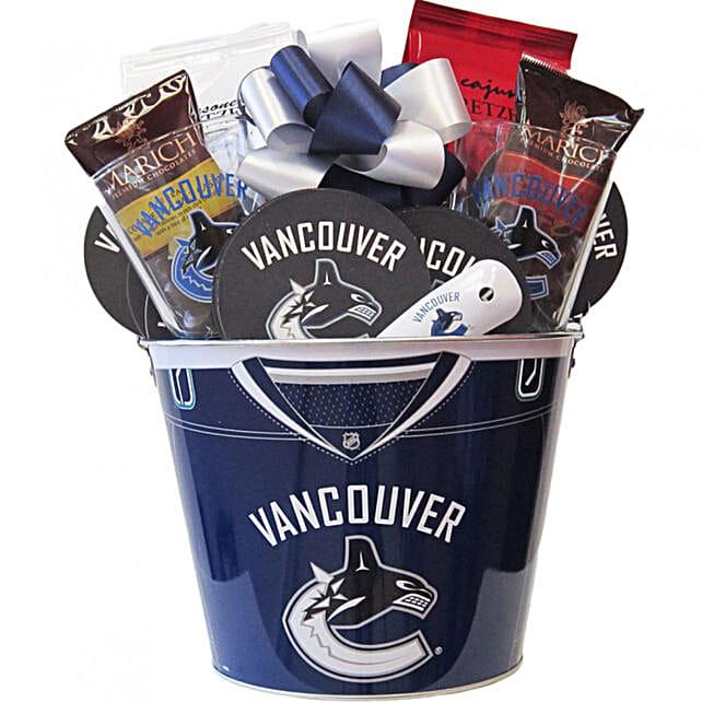 Hockey Mania Nhl Vancouver Canucks Ice Bucket