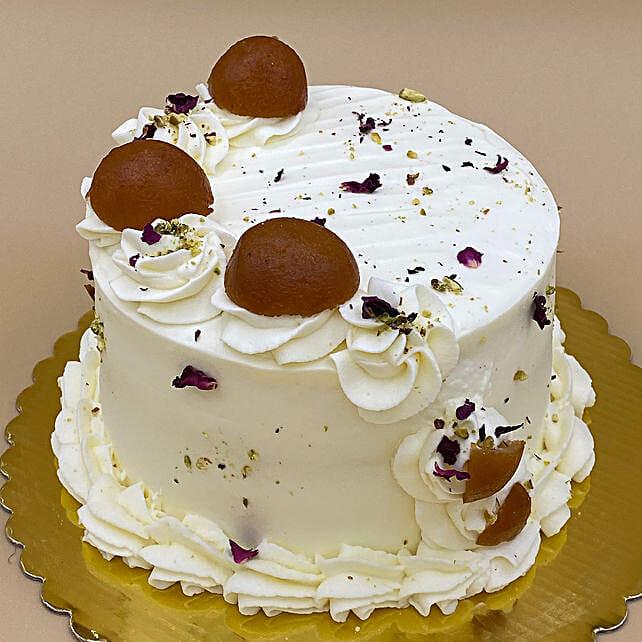 Super Delicious Gulab Jamun Cake:Cake Delivery in Canada