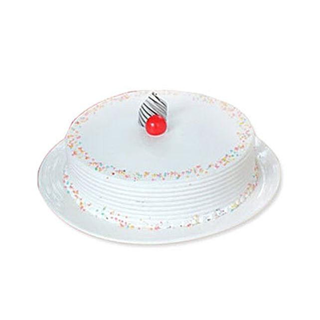 Vanilla Cake 1KG:Send Christmas Cakes to Canada