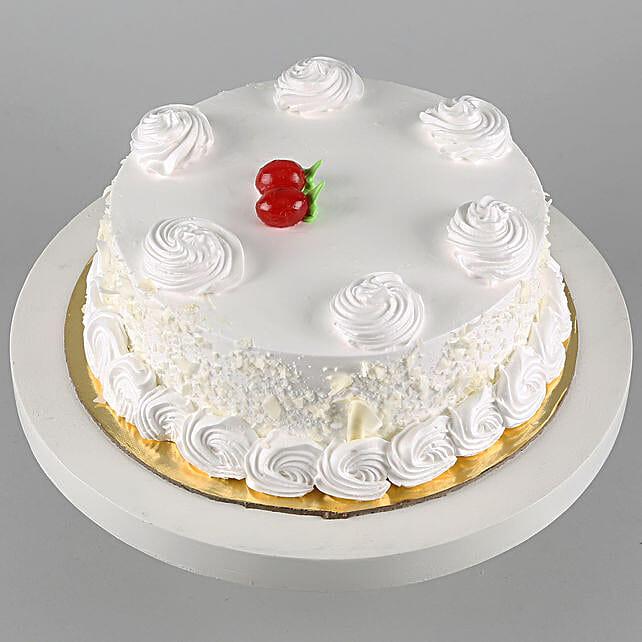 Vanilla Cake Half Kg:Cake Delivery in Canada