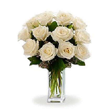 White Roses:Gifts for Mother in Canada