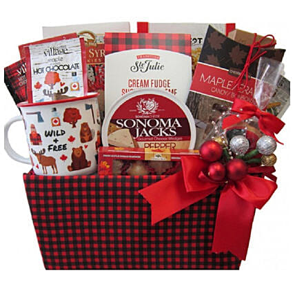 Wild Country Gift Basket For Christmas