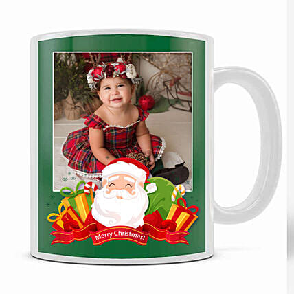 Personalised Xmas Wishes From Santa Mug