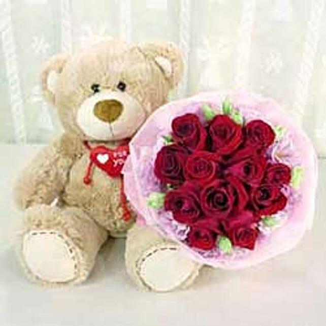 Bear & Flower A3 -CIN