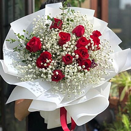 Happy Forever Rose Bouquet