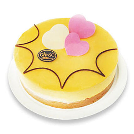 Mango Mousse Cake:Cake Delivery In China