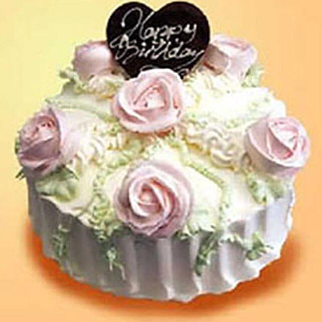 Delectable Cream Cake