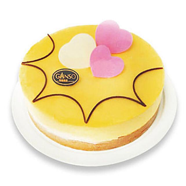 Delicious Mango Mousse Cake