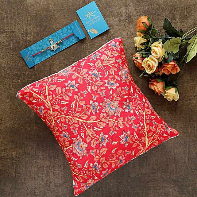 Bal Krishna Kids Rakhi And Beautiful Cushion